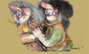 Trolle - norwegische - Diese Seite habe ich meinem Schatz, dem Antje-Troll, gewidmet